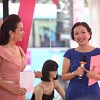 Chị Hồng Trang chia sẻ về sứ mệnh của Vera cũng như chiến dịch WEAR IT RIGHT
